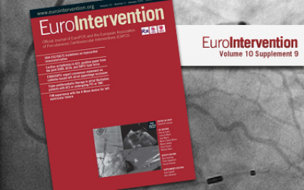 EuroIntervention - Volume 10 - Number 9 - January 2015 is available!