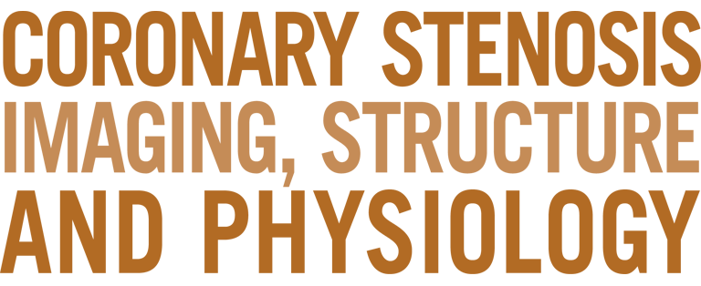 Coronary Stenosis Imaging, structure and physiology