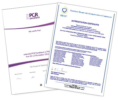 Certificates Peripheral EBAC