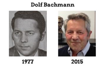 First PTCA: Dolf Bachmann