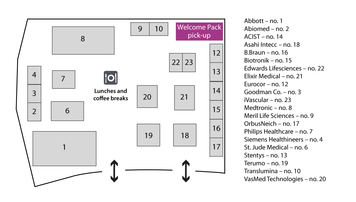 GulfPCR 2016 - Exhibition Floor Plan