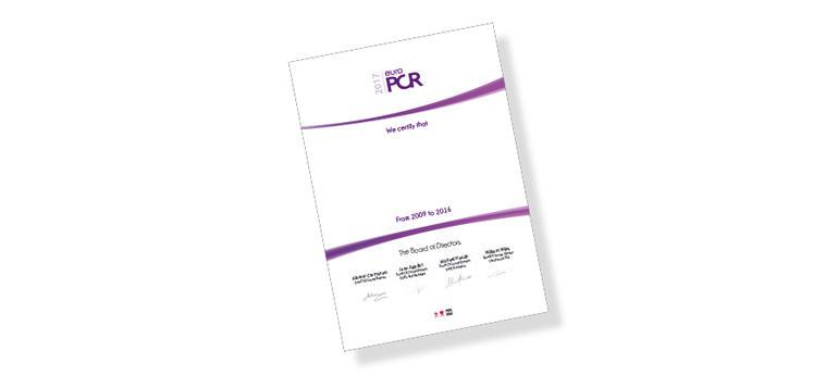 Certificates EuroPCR 2017