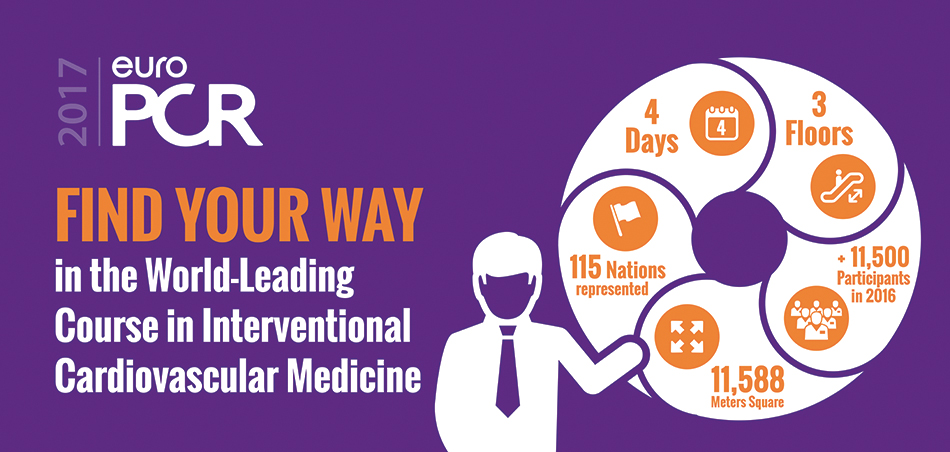 Find your Way at EuroPCR 2017