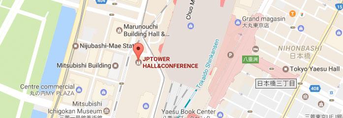 Location of PCR Tokyo Valves - JP Tower
