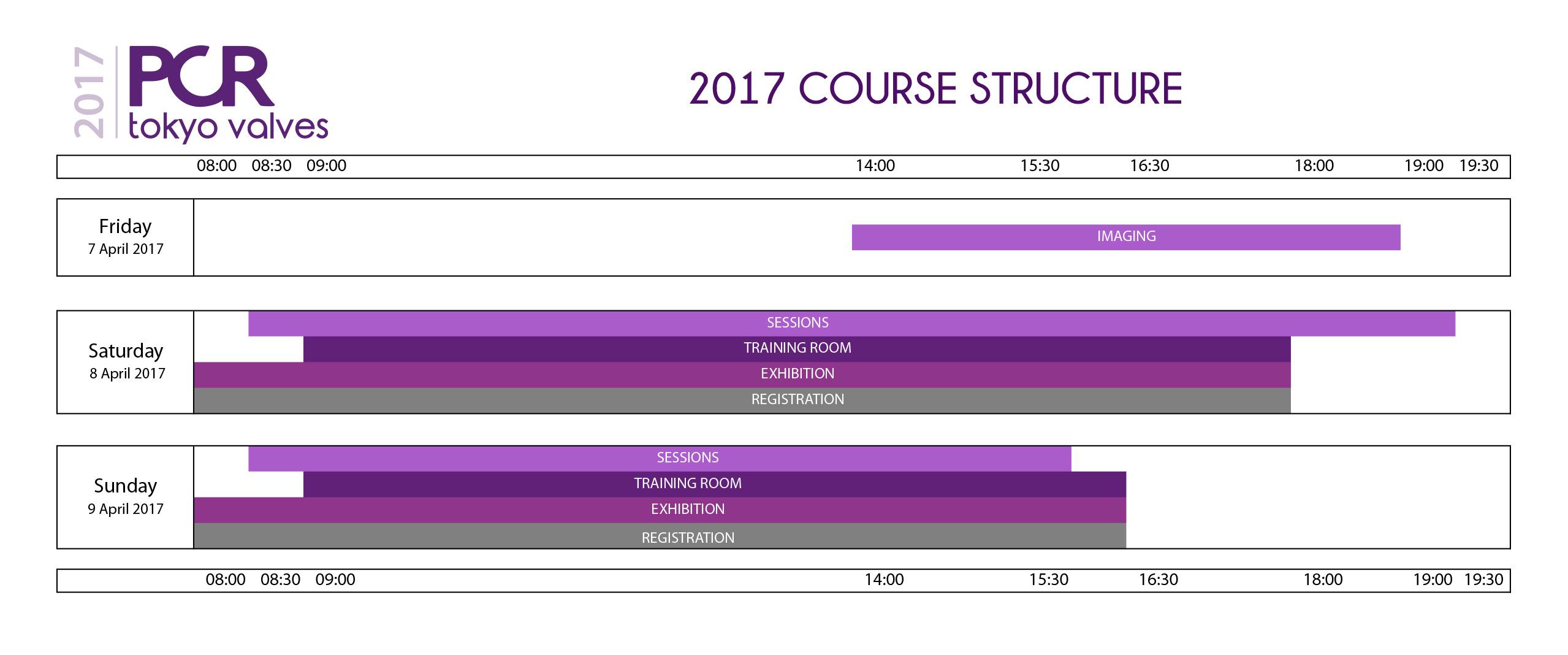 PCR Tokyo Valves 2017 - Course Structure