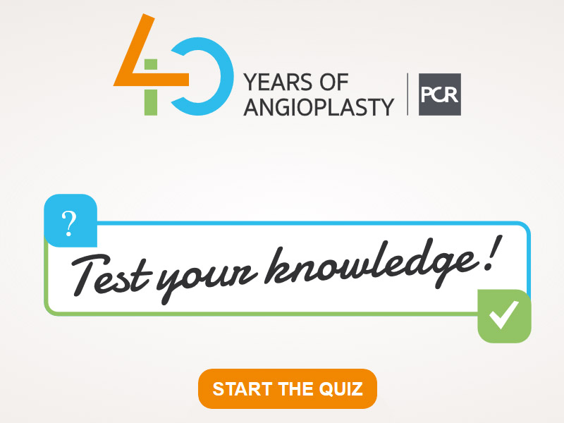 History of Angioplasty: take this 5 minutes QUIZ!
