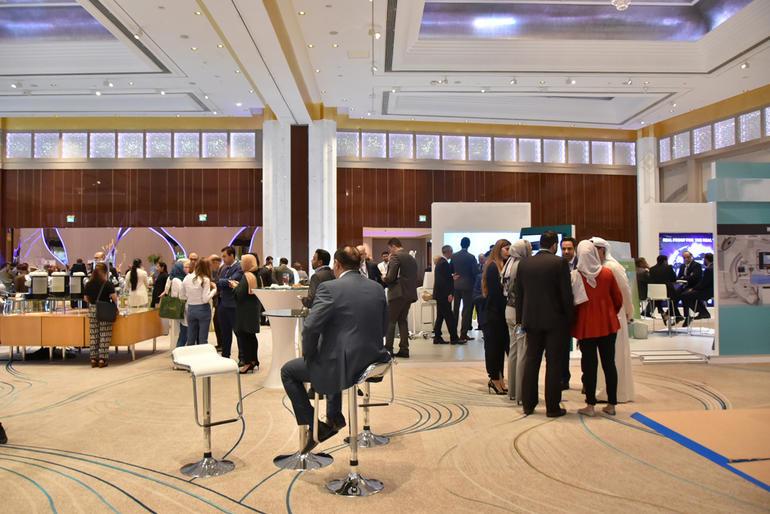 GulfPCR-GIM 2017 Exhibition area