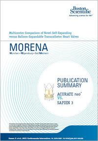 Morena - Publication summary: ACURATE neo vs. SAPIEN 3