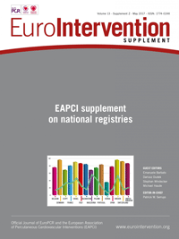 Volume 13 - EAPCI supplement on national registries - May 2017 Cover