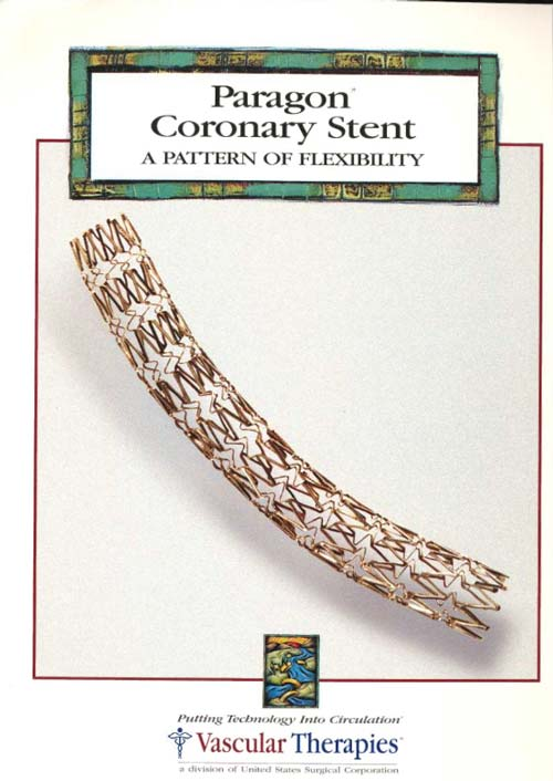 Paragon Coronary Stent By Vascular Therapies (1998)
