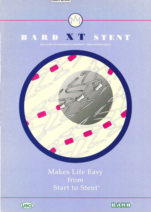 XT Stent By Bard