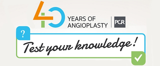 40 years of angioplasty QUIZ