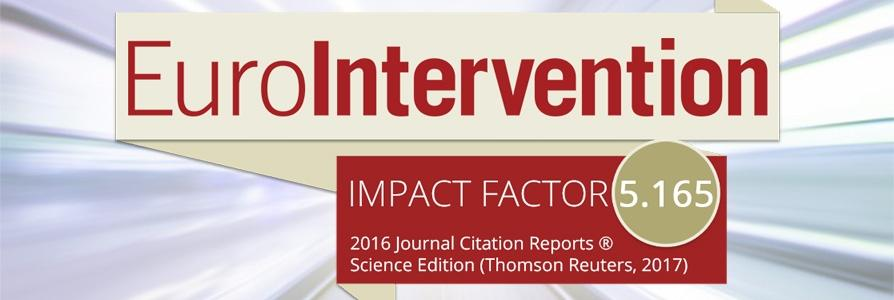New impact factor for Eurointervention