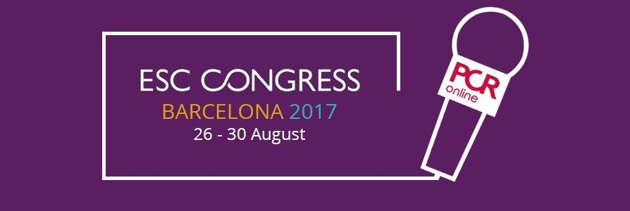PCR @ ESC Congress 2017